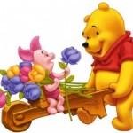 Imágenes bonitas de Winnie Pooh para imprimir y colorear