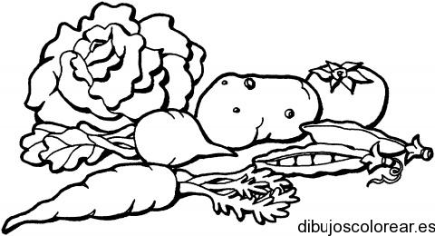 dibujos-de-verduras-para-colorear