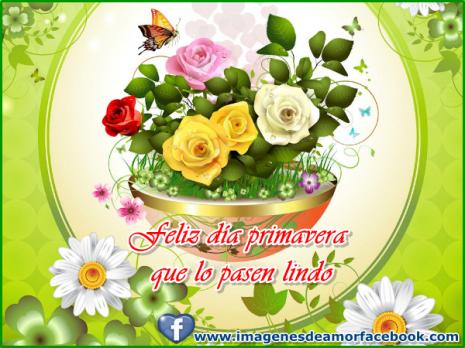 feliz dia primavera facebook