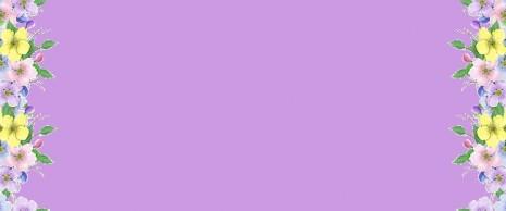 feliz-primavera-púrpura-flores