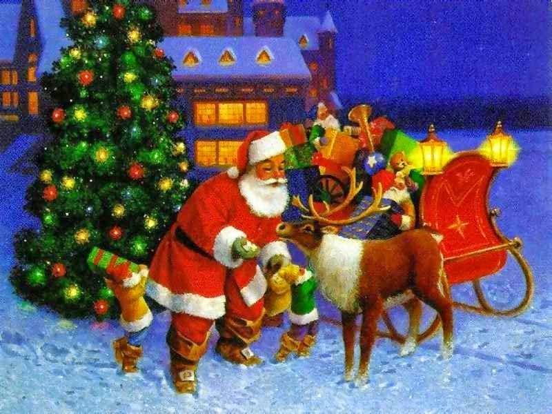 Imagenes de Navidad 2014 con Santa