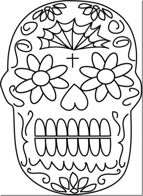 Esqueletos Tipo Mexicanos Catrinas Y Calaveras Para Pintar O