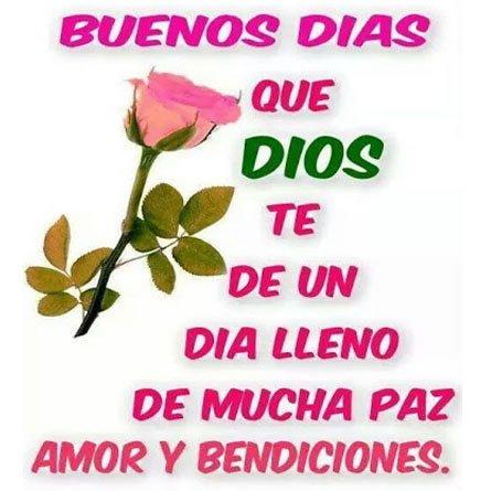 bendiciones buenos dias