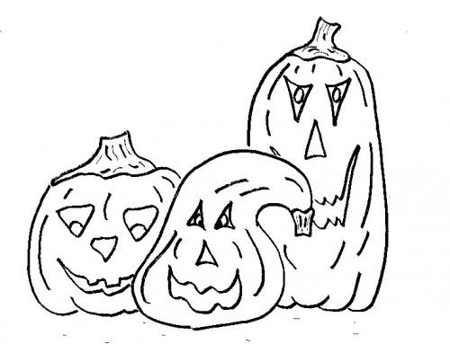 dibujo-colorear-pumpkins