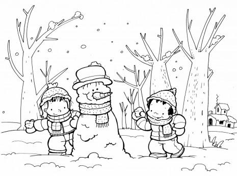Imágenes invernales para imprimir y pintar este invierno | Imágenes ...