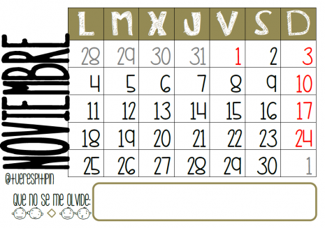 Noviembre 2013 by @Tuerespitipin