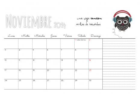 Noviembre 2014 - Estrelleta