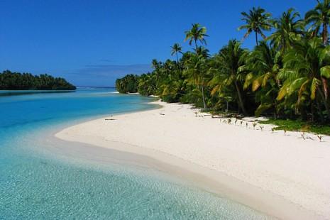 PLAYASLas islas de Cook son de una belleza exquisita entre tonos coral y un lago azu