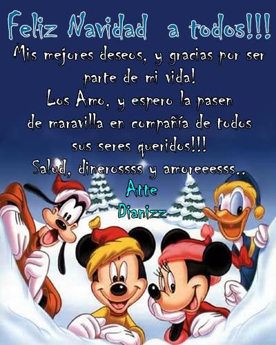 Felicitaciones De Navidad De Disney.Personajes De Disney Wallpapers Imagenes Y Mensajes