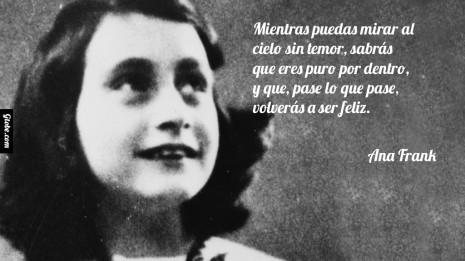 Frases Notables Del Diario De Ana Frank En Imágenes Imágenes Para