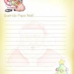33 Cartas a Papá Noel e imágenes de Santa Claus para descargar, imprimir y pedir regalos