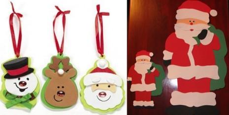 Manualidades tarjetas navide as centros de mesa for Manualidades con goma eva para navidad