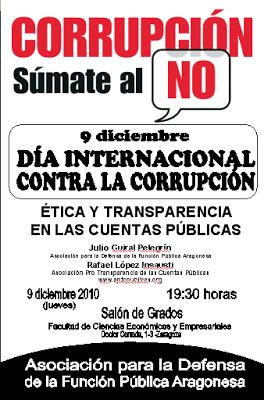Cartel Día Anticorrupción