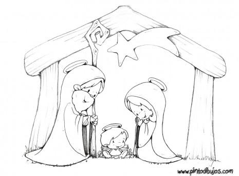 El pesebre de Navidad: Imágenes Navideñas para compartir de Portales ...