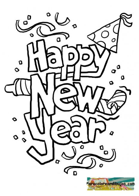 dibujos-de-feliz-ano-nuevo-2014-para-pintar-felizanonuevoparacolorear