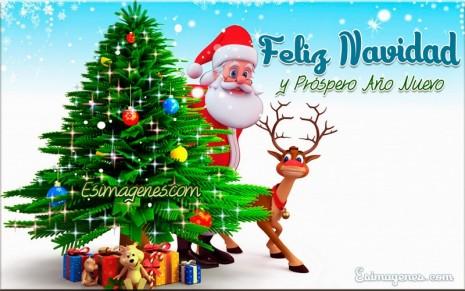 navidadTarjeta-con-imagen-de-santa-claus-feliz-navidad