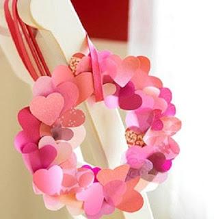 Manualidades de San Valentín para niños2.jpgcorona de corazones