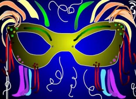 antifaz de carnaval