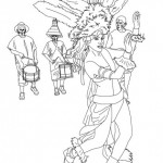 Dibujos del Carnaval de Río para descargar, pintar o compartir
