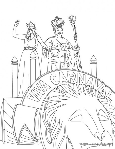 brazil carnival coloring pages - photo#31