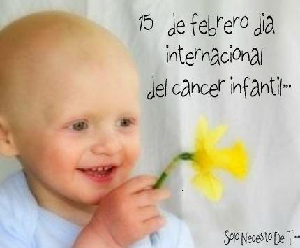 dia del cancer infantil