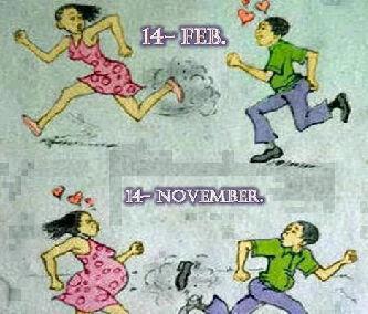 graciosas san valentin