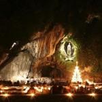 Imágenes espectaculares de la Vírgen de Lourdes para WhatsApp