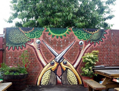 callejerosEl asombroso arte callejero de Phlegm (Flema) 02