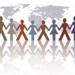 Diferentes formas de discriminación racial en imágenes para WhatsApp