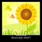45 imágenes de Bienvenido Abril para descargar y compartir en WhatsApp