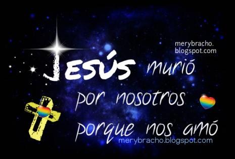 jesus murio nos amo semana santa