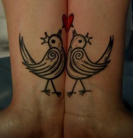 tatuaje-para-parejas-con-forma-de-pajaro