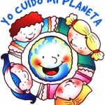 Imágenes infantiles del Día Mundial de la Tierra para descargar el 22 de abril