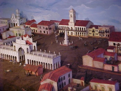 cabildoBUE colonial plaza fuerte recova cabildo