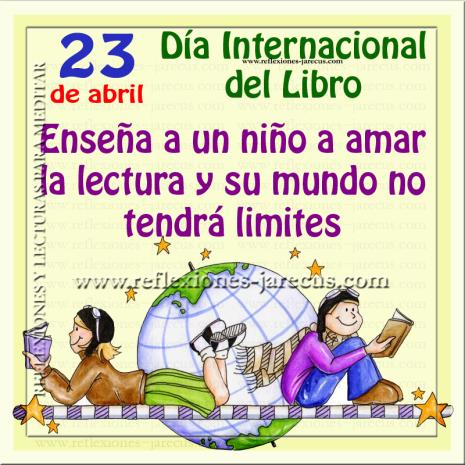 libro23 de abril dia internacional del libro 1