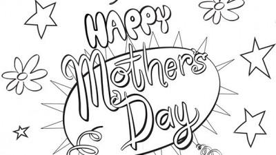 Dibujos Bonitos De Felíz Día De La Madre Para Descargar Imprimir Y