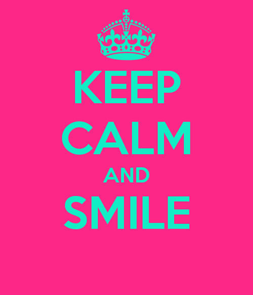 Keep-Calm-And-Smile