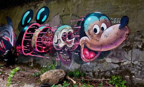 comicsartoon-graffiti-art