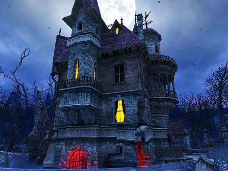 hHaunted-House-Screensaver-41
