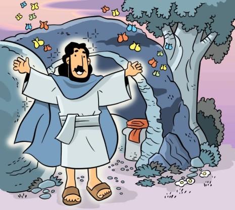 resuEaster Jesus alive color