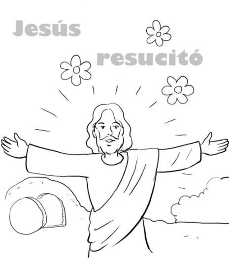 resuImagenes-de-pascua-cristiana-para-colorear
