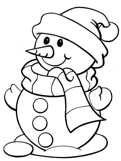 Snoowman-Coloring-Pages