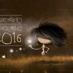 Calendario 2016 mes a mes del calendario puro pelo: Almanaques para descargar con imágenes para WhatsApp