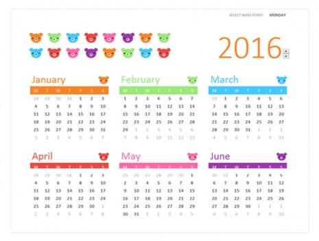 calendariosinfantiles2016