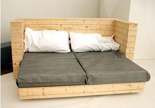 paletsSofa, cama y escritorio 3 en 1 - 2