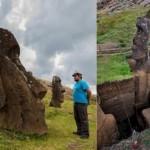 Impactantes fotografías de las antiguas estatuas de la Isla de Pascua