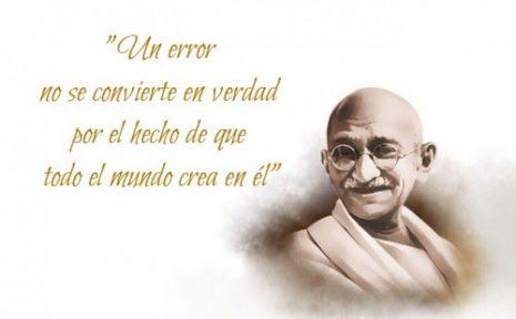 Imágenes Y Frases Célebres De Mahatma Gandhi Imágenes