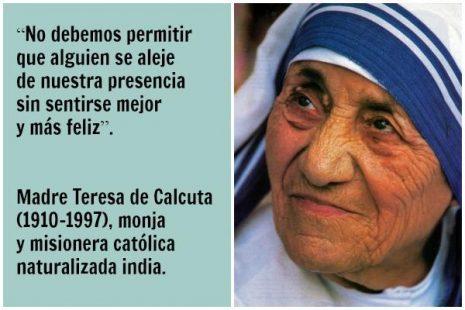 Madre Teresa De Calcuta 1910 1997 Santa Teresa De Calcuta