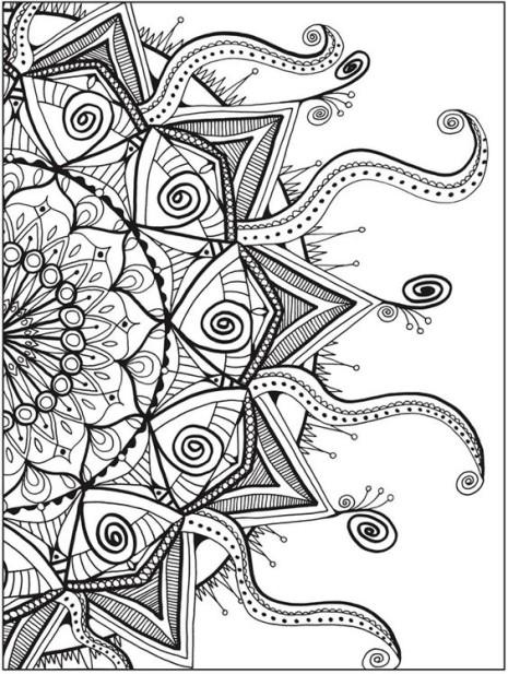 Las Mejores Mandalas En Blanco Y Negro Para Colorear