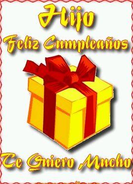 Feliz Cumpleaños Hijo 4
